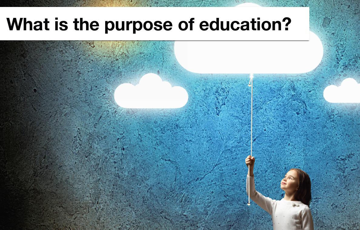 The purpose of education · Claire Boonstra